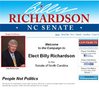 Elect Billy Richardson - NC Senate